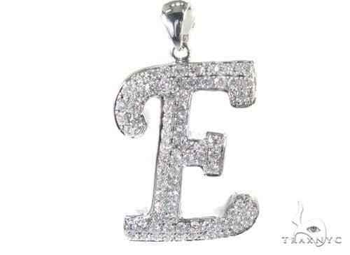 Frozen E Pendant Metal