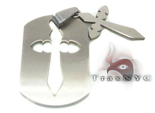 Cross Crucifix Tag Metal