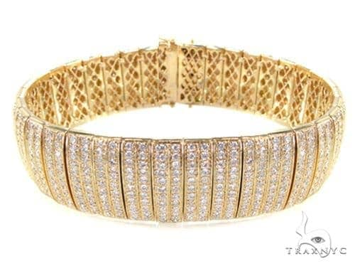 Yellow Gold Presidential Bracelet Diamond
