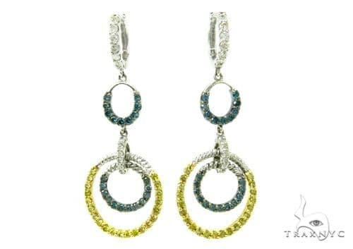 Prong Diamond Chandelier Earrings 36961 Style