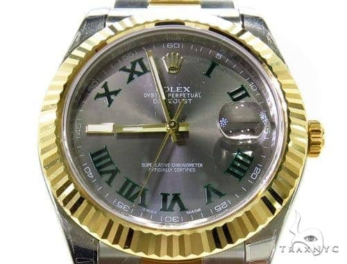 Rolex Datejust II Steel and Yellow Gold 116333