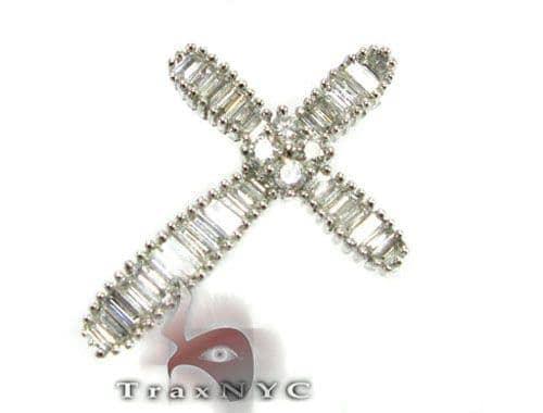 Blade Cross Crucifix Diamond