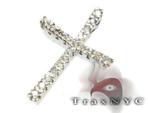 Swoop Cross Crucifix Diamond