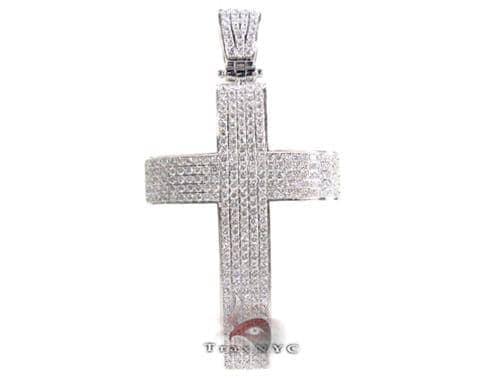 Geo Cross Crucifix Diamond