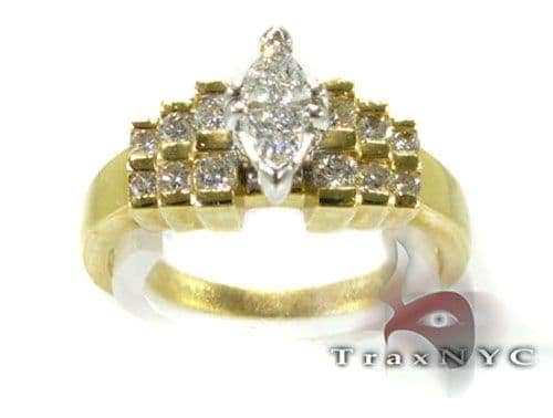 Ladies Triangle Ring Engagement
