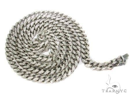 Diamond Miami Link Chain 10mm, 248.68 Grams Diamond