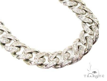 Diamond Cuban XL Chain 42 Inches, 14mm, 300 Grams Diamond