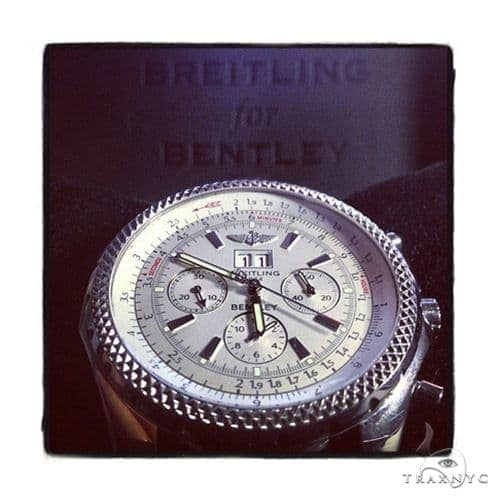 Breitling Bentley Motors Watch White Dial Breitling