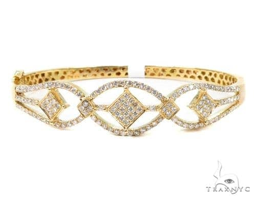 Prong Diamond Bangle Bracelet 37375 Bangle