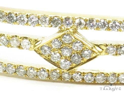 Prong Diamond Bangle Bracelet 37381 Bangle