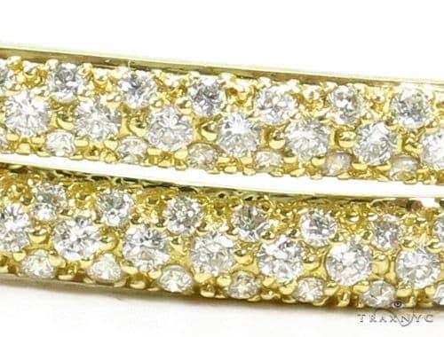 Prong Diamond Bangle Bracelet 37389 Bangle