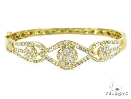 Prong Diamond Bangle Bracelet 37390 Bangle