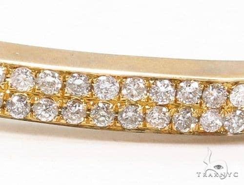 Prong Diamond Bangle Bracelet 37394 Bangle