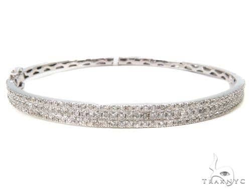 Prong Diamond Bangle Bracelet 37441 Bangle