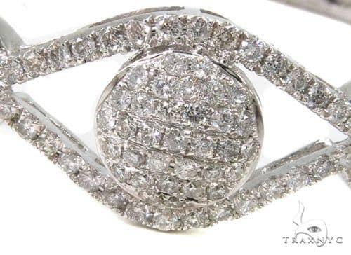 Prong Diamond Bangle Bracelet 37449 Bangle