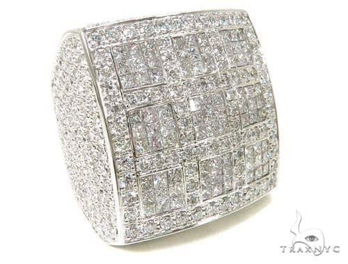 Invisible Square XL Ring Stone