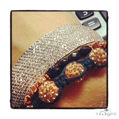 Prong Diamond Bracelet 37567 Diamond