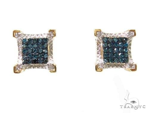 Prong Diamond Earrings 37681 Stone