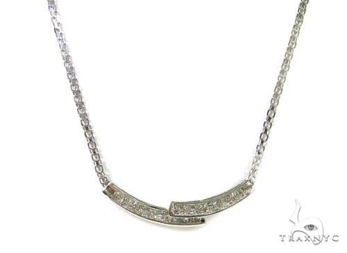 Invisible Diamond Necklace 37701 Diamond