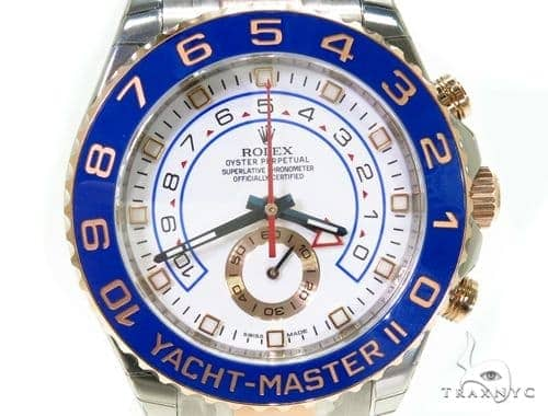 Rolex Yacht-Master II Steel and Everose Gold 116681
