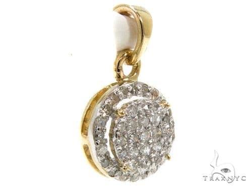 Prong Diamond Pendant 37892 Stone