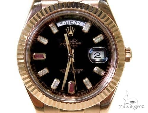 Rolex Day-Date II President Everose Gold