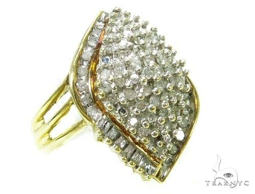 Prong Diamond Ring 37954 Anniversary/Fashion