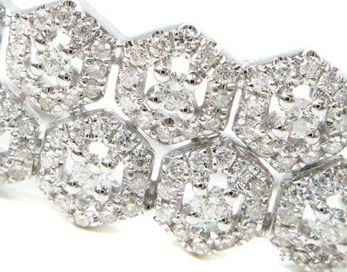 Prong Diamond Bangle Bracelet 38002 Bangle