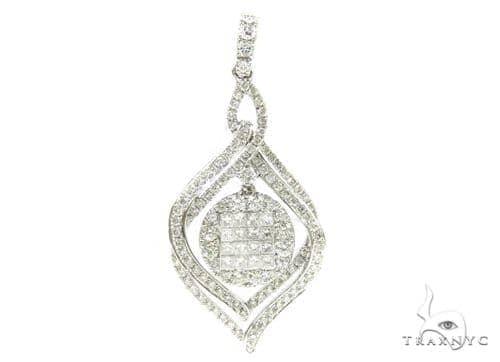 Invisible Diamond Pendant 38009 Stone