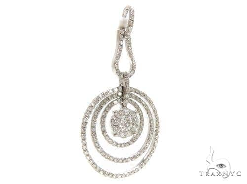 Prong Diamond Pendant 38010 Stone