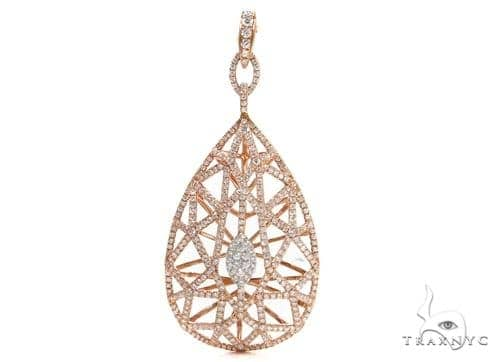 Prong Diamond Pendant 38020 Stone