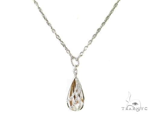 Prong Diamond Necklace 38038 Diamond
