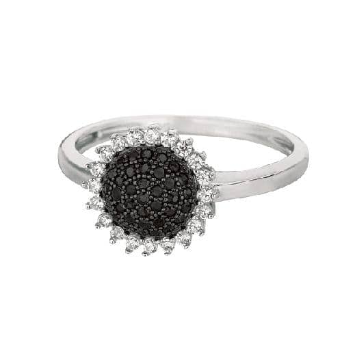 Silver Shiny Sun Flower Top Size 7 Ring Anniversary/Fashion