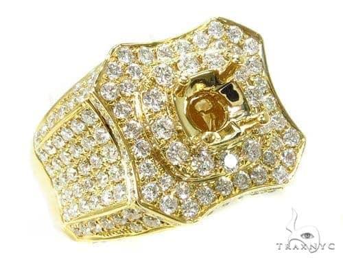 Prong Diamond Semi Mount Ring 39281 Stone