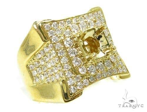 Prong Diamond Semi Mount Ring 39282 Stone