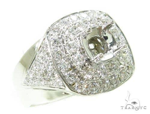 Prong Diamond Semi Mount Ring 39285 Stone