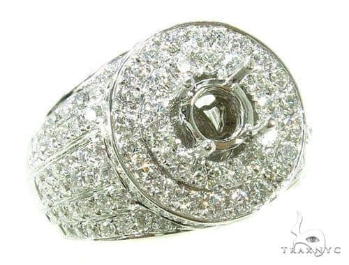 Prong Diamond Semi Mount Ring 39290 Stone