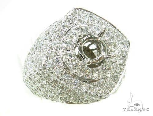 Prong Diamond Semi Mount Ring 39298 Stone