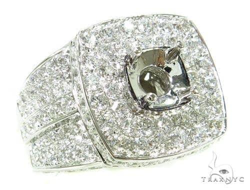 Prong Diamond Semi Mount Ring 39299 Stone