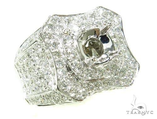 Prong Diamond Semi Mount Ring 39302 Stone
