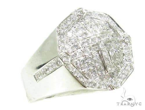 Prong Diamond Cross Ring 39321 Stone