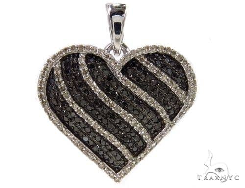 Prong Diamond Heart Pendant 39441 Style