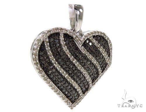 Prong Diamond Heart Pendant 39441 Style