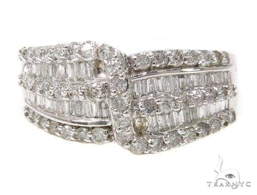 Ladies Diamond Baguette Ring 39490 Wedding