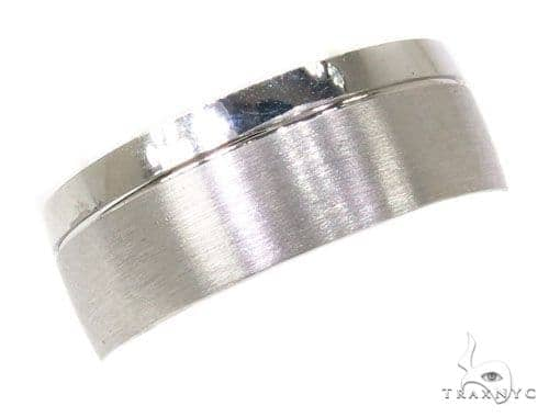 Mens Two Sided Wedding Band 39500 Style