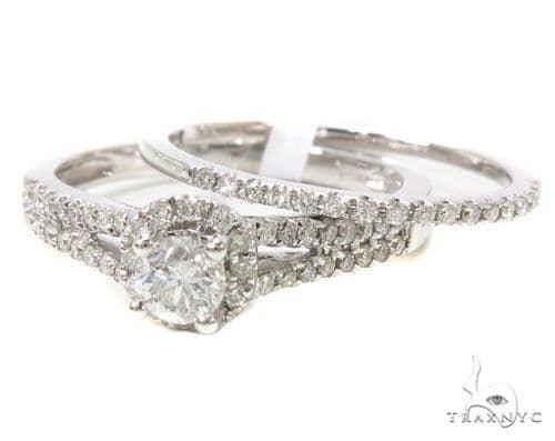 Prong Diamond Wedding Ring Set 39548 Engagement