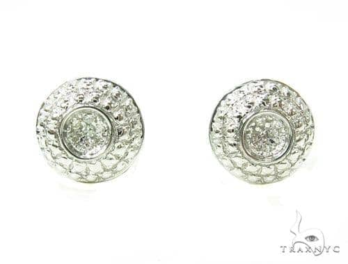Prong Diamond Earrings 39662 Style