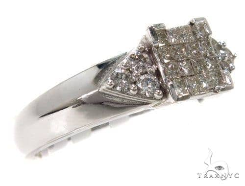 Invisible Diamond Wedding Ring 39789 Engagement