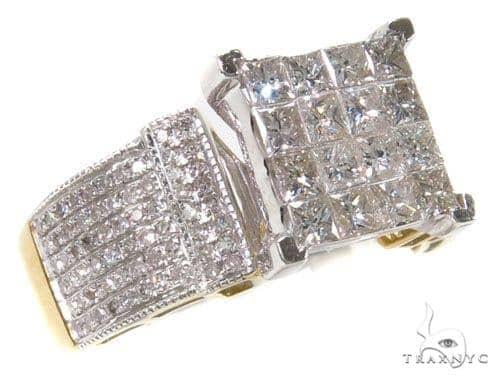 Invisible Diamond Wedding Ring 39796 Engagement