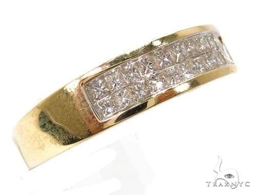 14k Yellow Gold Invisible Ring-39959 Wedding